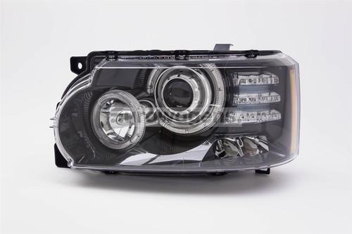 Headlight left Bi-xenon LED DRL AFS black Land Rover Range Rover Vogue 10-12