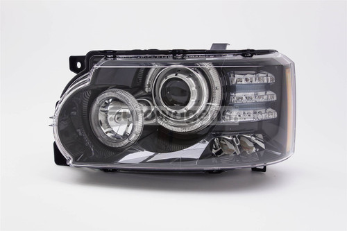 Headlight left Bi-xenon LED DRL AFS black Land Rover Range Rover Vogue 10-12