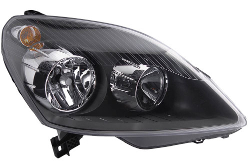 Headlight right black Vauxhall Zafira 05-08 OEM