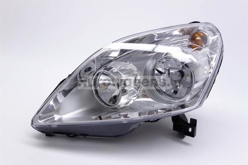 Headlight left chrome Vauxhall Zafira 08-10 OEM