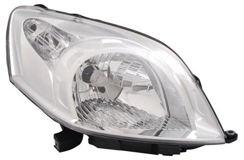Headlight right Fiat Qubo 08-
