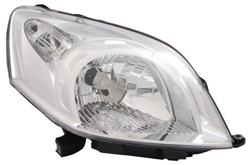 Headlight right Peugeot Bipper 08-