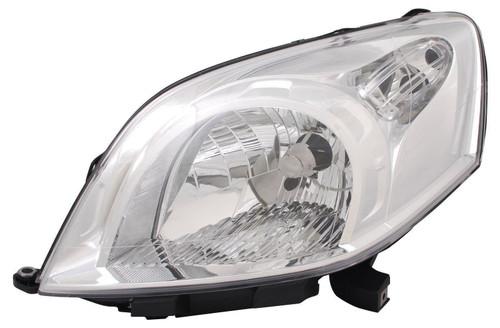 Headlight left Fiat Qubo 08-