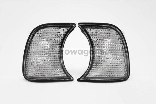 Front indicators set clear BMW 5 Series E34 87 97