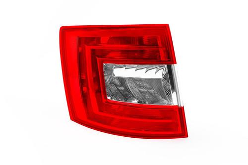 Rear light left Skoda Octavia 13-16 Estate
