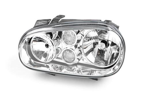 Headlight left with fog light VW Golf MK4 98-04