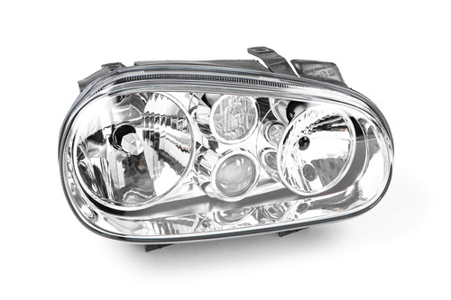 Headlight right with fog light VW Golf MK4 98-04