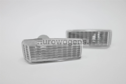 Side indicators set clear Mercedes-Benz 190 W201 82-93