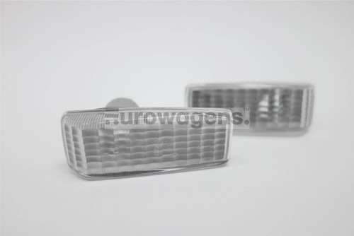 Side indicators set clear Mercedes-Benz E Class A124 91-98