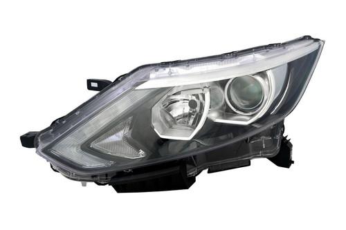 Headlight left Nissan Qashqai 14-17