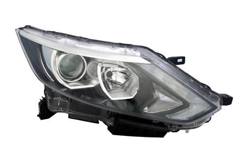 Headlight right Nissan Qashqai 14-17