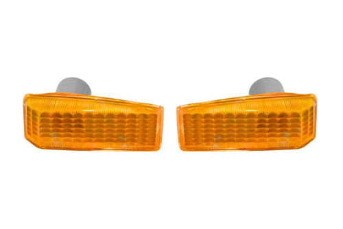 Side indicators set orange Mercedes-Benz E Class W124 85-96