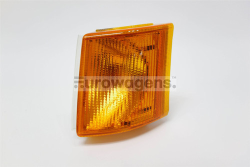 Front indicator left orange Ford Transit 85-91