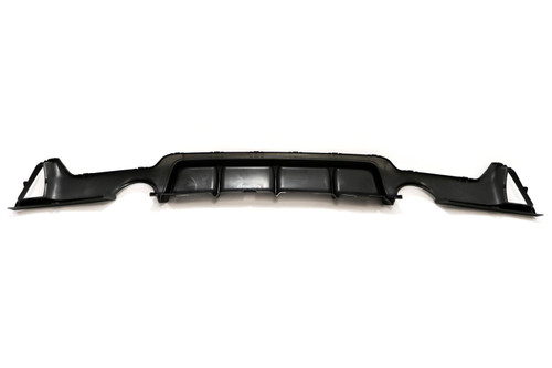Rear bumper diffuser M Performance single exhaust pipe BMW 4 Series F32 14-