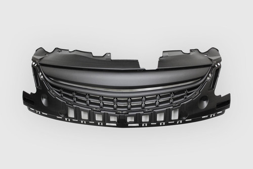 Front debadged grille black Vauxhall Corsa D 11-14
