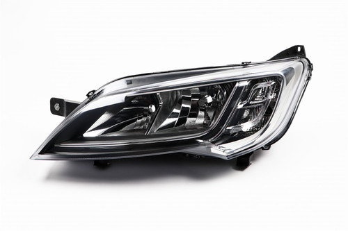 Headlight left chrome Peugeot Boxer 14-17
