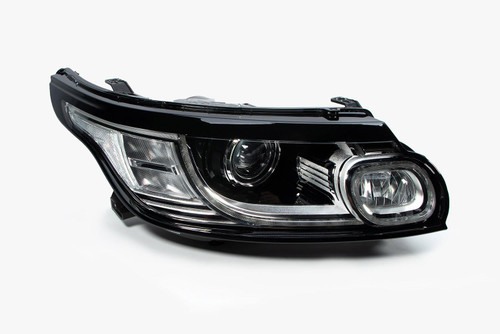 Headlight right Bi-xenon LED DRL AFS Range Rover Sport 14-