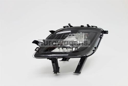 Front fog light left with indicator black Vauxhall Astra J 09-12