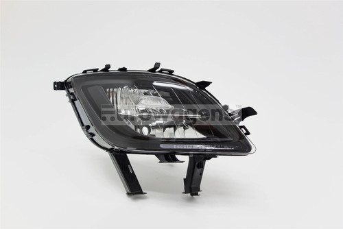 Front fog light right with indicator black Vauxhall Astra J 09-12