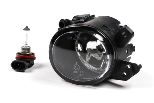 Front fog light left black Smart Fortwo 07-