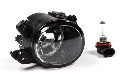 Front fog light right black Smart Fortwo 07-