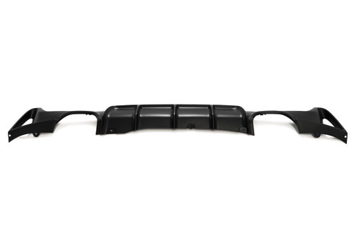 Rear bumper diffuser M Performance twin exhaust pipe both sides BMW 4 Series F32 14-