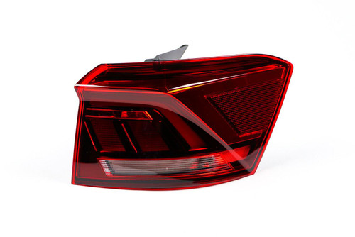Rear light dark red right LED outer VW T-Roc 17-