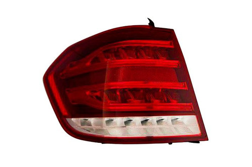 Rear light left outer LED dark red Mercedes-Benz E Class S212 12-15 Estate