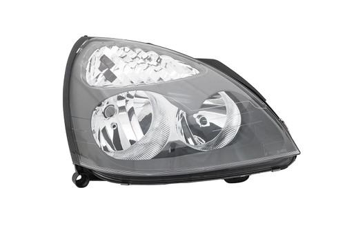 Headlight right grey Renault Clio MK2 01-05 Hatchback