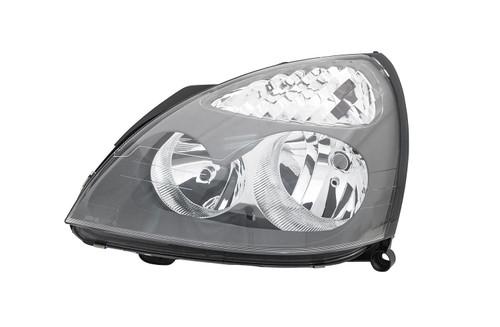 Headlight left grey Renault Clio MK2 01-05 Hatchback