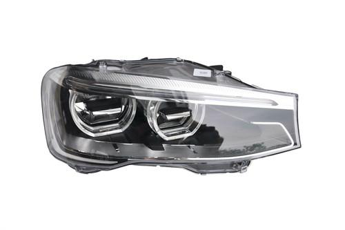 Headlight right Bi-xenon LED DRL BMW X3 F25 15-17