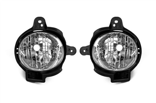 Front fog light set Toyota Hilux 11-15