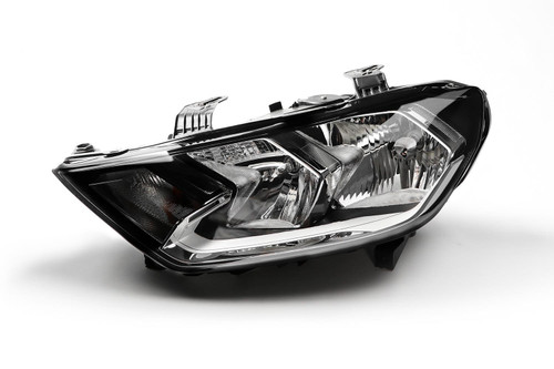 Headlight left black Audi A1 18-