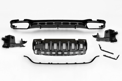 Rear bumper diffuser E63 Look Mercedes-Benz E Class W213 16-