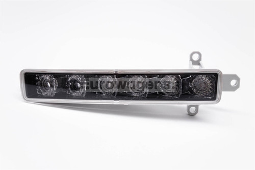 Front bumper black LED DRL light Peugeot 107 12-16
