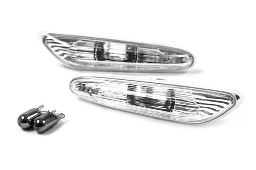 Side indicators set with bulbs BMW 3 Series E90 E91 05-12