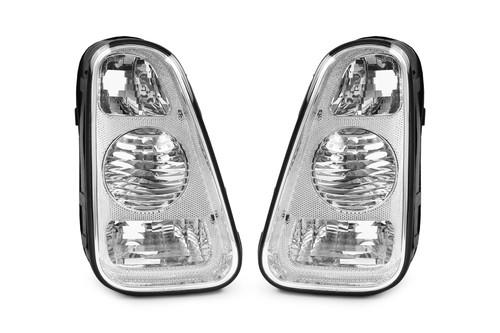 Rear lights set clear Mini One Cooper R50 R53 01-04