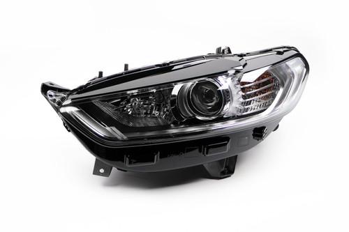 Headlight left chrome DRL Ford Mondeo 15-18
