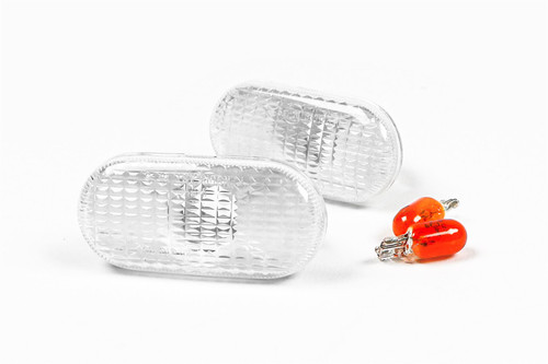 Side indicators set clear Renault Clio 90-97