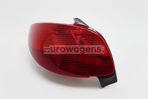 Rear light left Peugeot 206 99-03