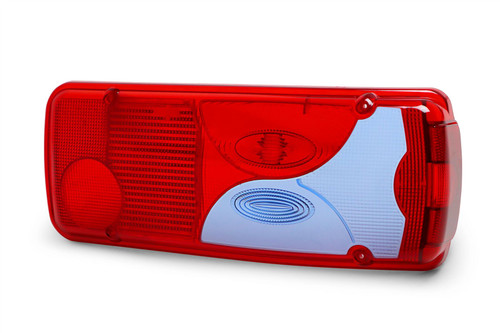 Rear light blue red lens right VW Crafter Pickup Chassis Cab 06-18