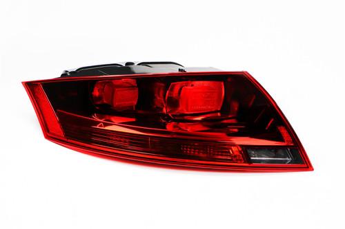 Rear light left dark red Audi TT 06-14