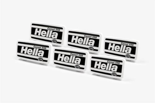 Hella Comet 550 front spot lights headlights cap 19.7cm x 10.2cm x6
