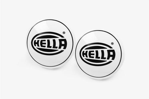 Hella Comet 3003 Compact front spotlight headlight cap set of 2