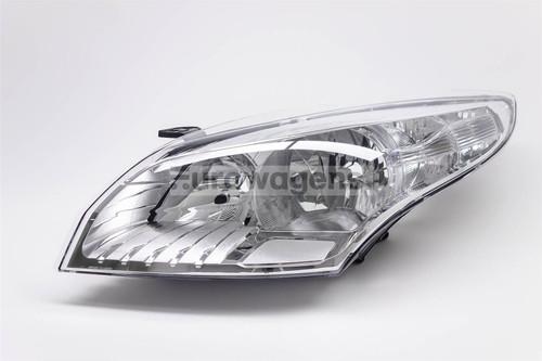 Headlight left chrome Renault Megane 08-11 OEM