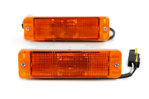 Front indicators set orange VW Golf MK1 74-83