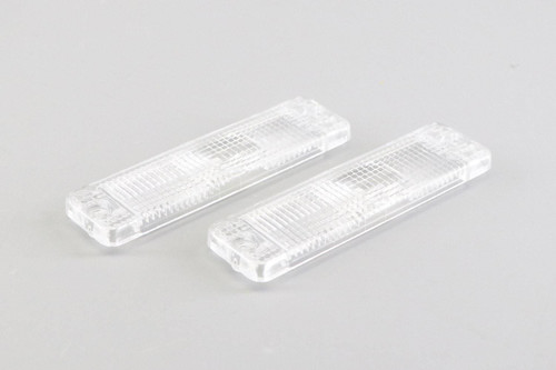 Front indicator lenses set clear VW Caddy MK1 82-92