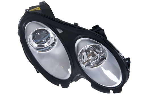 Headlight right Smart ForFour 04-06