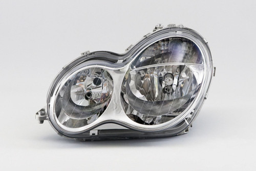 Headlights left Mercedes-Benz C Class W203 04-07 Saloon