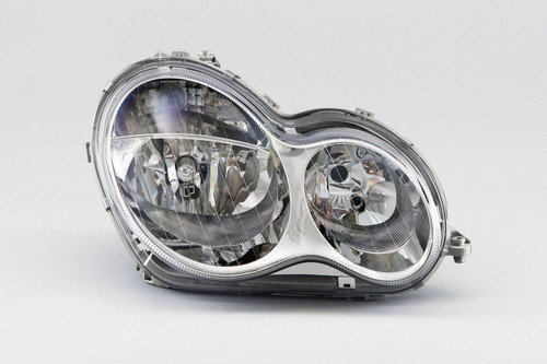 Headlights right Mercedes-Benz C Class W203 04-07 Saloon